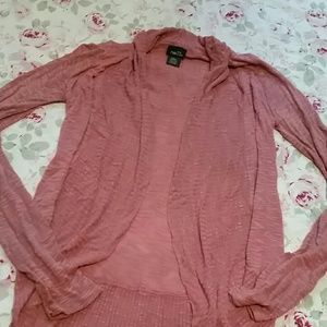 NWOT mauve lightweight sweater